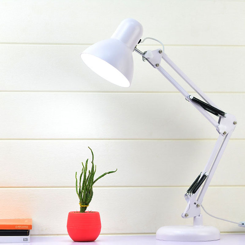 Home Lighting Classic Pink Desk Lamp Portable Flexible Led Light Bedside Desk Office Study Home Furniture Diy Itkart Org