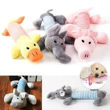 Couinement à mâcher chien jouets son poupées chien chat polaire animal de compagnie drôle en peluche éléphant canard cochon adapté pour tous les animaux de compagnie éléphant canard cochon jouets en peluche