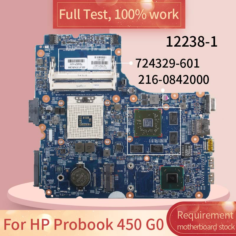 721521-601 724329-601 For HP Probook 440 450 470 G0 8750M 1GB 12238-1 SLJ8E 216-0842000 DDR3 Laptop Motherboard Mainboard
