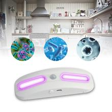 Household UVC Disinfection LED uvc Lamp Sterilizer Portable Handheld Stick for Hospital Home Use Germicidal lamp  free shipping dc powered intelligent air purifier filters exchangeable uvc lamp for disinfection