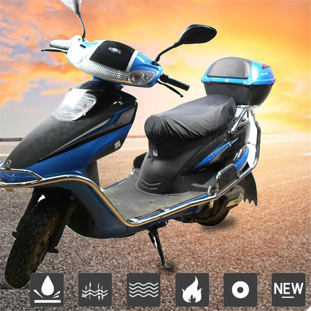 210D/Oxford/cloth//& PU/Waterproof/Motorcycle Seat Cover,Wear-Resistant Elastic Universal Motorcycle Scooter Seat Cover Protector For All Seasons