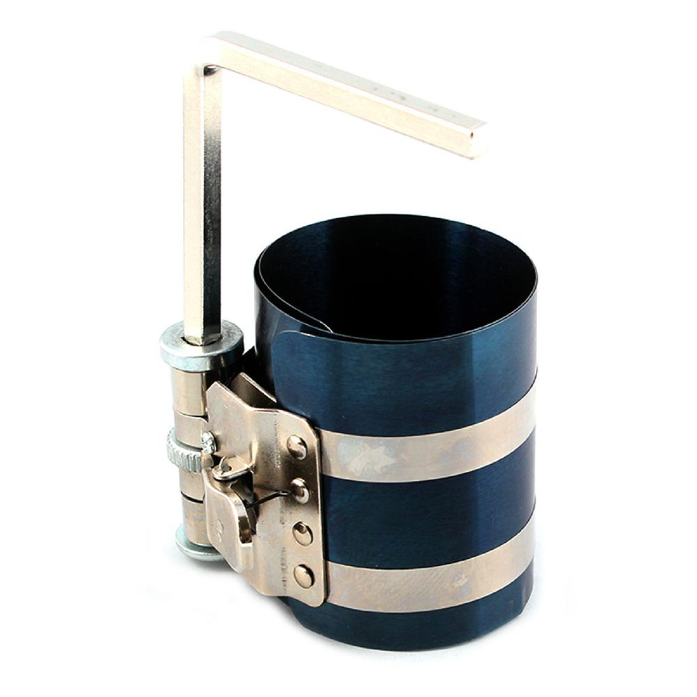 Car Piston Ring Compressor Installer Automotive Tool 53mm To 125mm Car Mechanic Piston Ring Wrench Tools Auto Repair Wrench