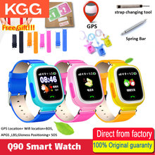 Smart kids Watch Q90 WIFI Touch Screen GPS Tracker kids smart watch for kids safe SOS call Location devices Anti Lost reminder
