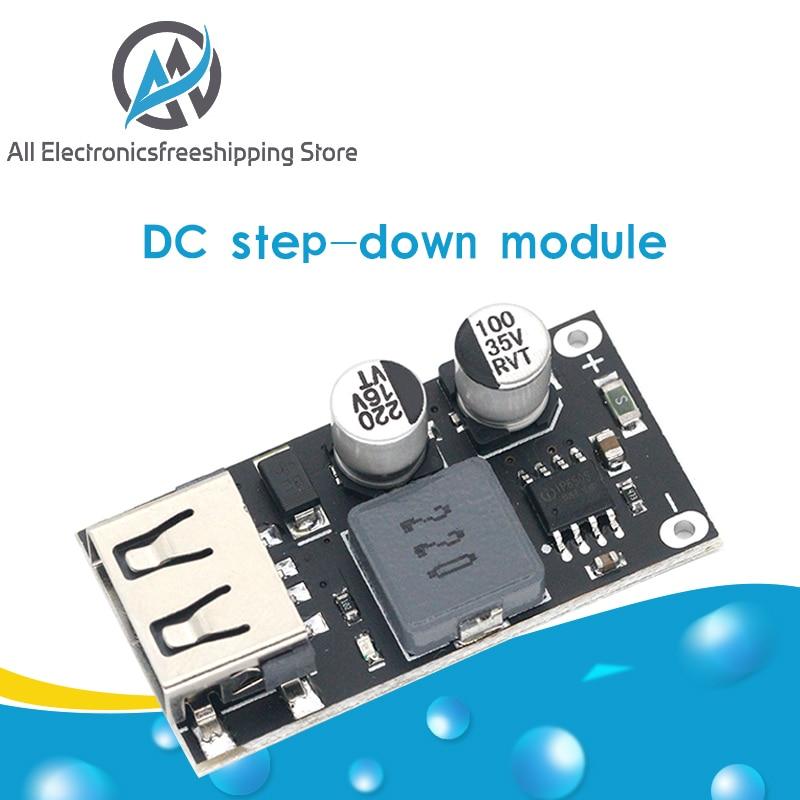 USB-конвертер QC3.0 QC2.0, понижающий модуль зарядки 6-32 В, 9 В, 12 В, 24 В для быстрой зарядки, печатная плата 3 В, 5 В, 12 В