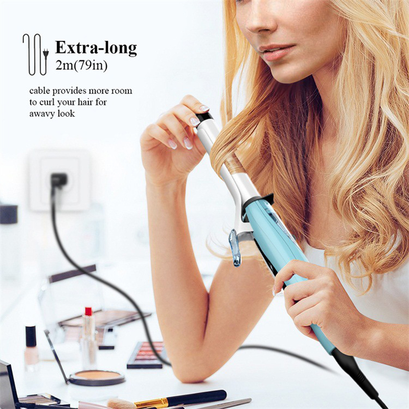 Vapor elétrico modelador de cabelo cerâmica spray