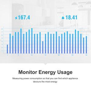 Image 4 - Itead Sonoff POW R2 15A WiFi Smart Switch Monitor Energie Verbrauch Smart Home Wi Fi Schalter über eWeLink APP Arbeitet Mit alexa IFTTT
