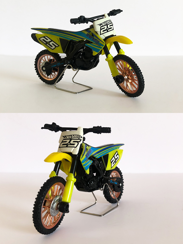 Atyhao Jouet de mod/èle de Moto Inclus Alliage 1:12 /échelle Enfant Enfant Rue Glisse Moto Haute Simulation avec Son l/éger avec 3 pi/èces Bouton AG13 Battry
