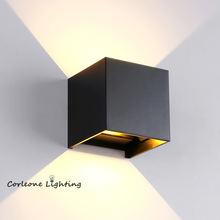 Nordic светодиодный настенный светильник на открытом воздухе