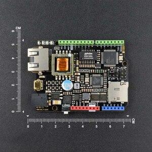 Image 2 - Dfrobot Nâng Cấp W5500 Ethernet Với ATmega32u4 Và PoE Ban Kiểm Soát V2.0 Tương Thích Với Arduino Cho IOT Intel Của Sự Vật