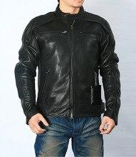 送料無料。プラスサイズのクラシック男性牛革ジャケット、メンズ本革ジャケット。ブランド革コート