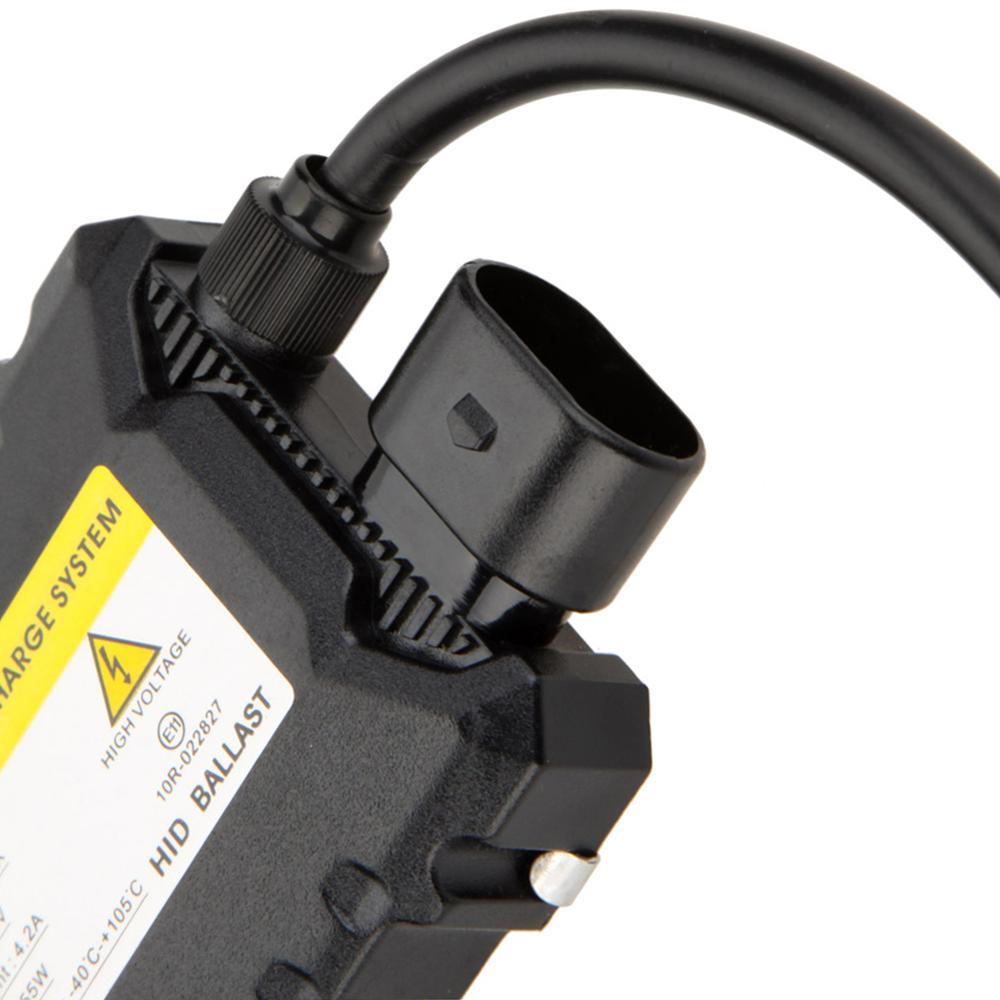 2PCS 55W Slim Xenon Ignition Unit Block H1 H3 H7 H8 H9 H119005 9006 H4 Hid Xenon Ballast Electronic Digital Control Ballast Kit