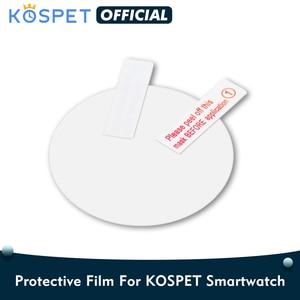 Image 1 - KOSPET Prime/Hope/Prime/Optimus Pro/Brave smartwatch protective Film, Cover For Kospet Smart Watch Screen Protector 3pcs/pack