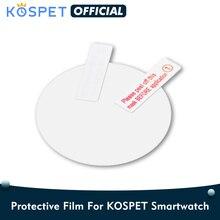 Kospet Prime/Hope/Prime/Optimus Pro/Brave smartwatch película protetora, capa para kospet relógio inteligente protetor de tela 3 unidades/pacote