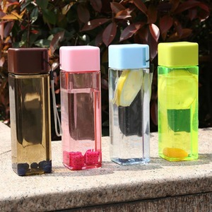 480ml Square Bottle For Water