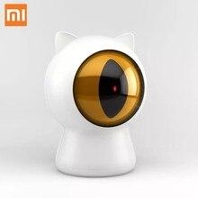 Xiaomi petoneer laser red dot animais de estimação gatos brinquedo teaser usb recarregável inteligente gatos companheiro interativo brinquedo inteligente controle app