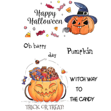 ZhuoAng Pumpkin candy Clear Stamps/Silicone Transparent Seals for DIY scrapbooking photo album Stamps