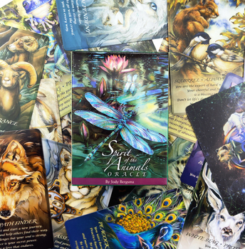 2020 New spirit of animal oracle cards Full  English mysterious fortune tarot cards game for girls family card game new knowledge wisdom oracle cards 52 cards set english mysterious fortune tarot cards game for girls family card game
