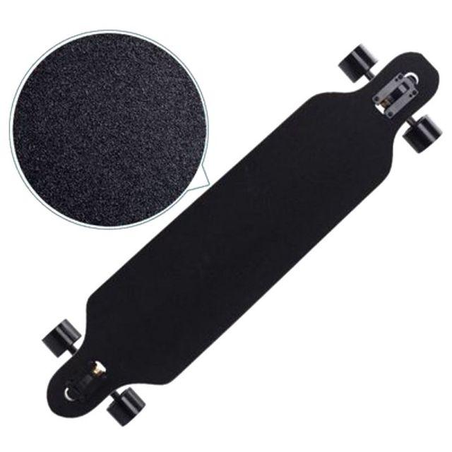 110cm*25cm Skateboard Sandpaper Professional Black Skateboard Deck Sandpaper Grip Tapes