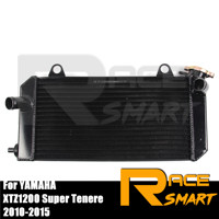 Motorcycle Cooling Radiator Engine Replacement Parts For YAMAHA XTZ1200 XTZ 1200 Super Tenere 2010 2011 2012 2013 2014 2015