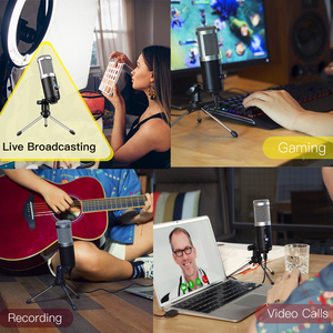 Image 5 - GGMM F1 Microphone USB Condenser Microphones for Laptop Mac Computer Recording Studio Streaming Gaming Karaoke Youtube Videos