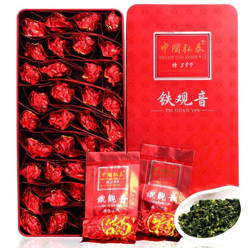 Strong Aroma Flavor * Premium Anxi Tie Kuan Guan Yin Tea Tieguanyin Oolong Tea 250g BOX