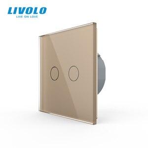 Image 2 - Công tắc cảm ứng Livolo Treo Tường cao cấp Cảm Ứng Cảm Biến, Công Tắc Đèn, công tắc điện, Thủy Tinh Pha Lê, Ổ Cắm Điện, đa năng ổ cắm, Tự Do Lựa Chọn
