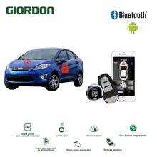 Universal Keyless Entry PKE Comfort System Android APP Phone Car Alarm Boost Remote Start Engine ford fiesta