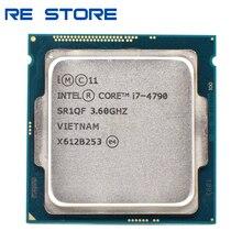 משמש Intel Core i7 4790 3.6GHz Quad Core 8M 5GT/s מעבד מעבד SR1QF LGA1150