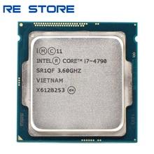 Processeur Intel Core i7 4790 3.6GHz, Quad Core, 8M, 5GT/s processeur dunité centrale SR1QF, LGA1150, doccasion