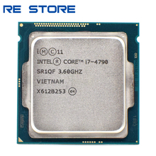 used Intel Core i7 4790 3.6GHz Quad Core 8M 5GT/s CPU Processor SR1QF LGA1150
