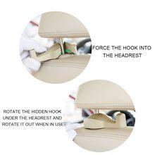 Крючок для автомобильного сиденья заднее сиденье скрытое оснащение салона машины Многофункциональный креативный автомобильный крюк для хранения qyh