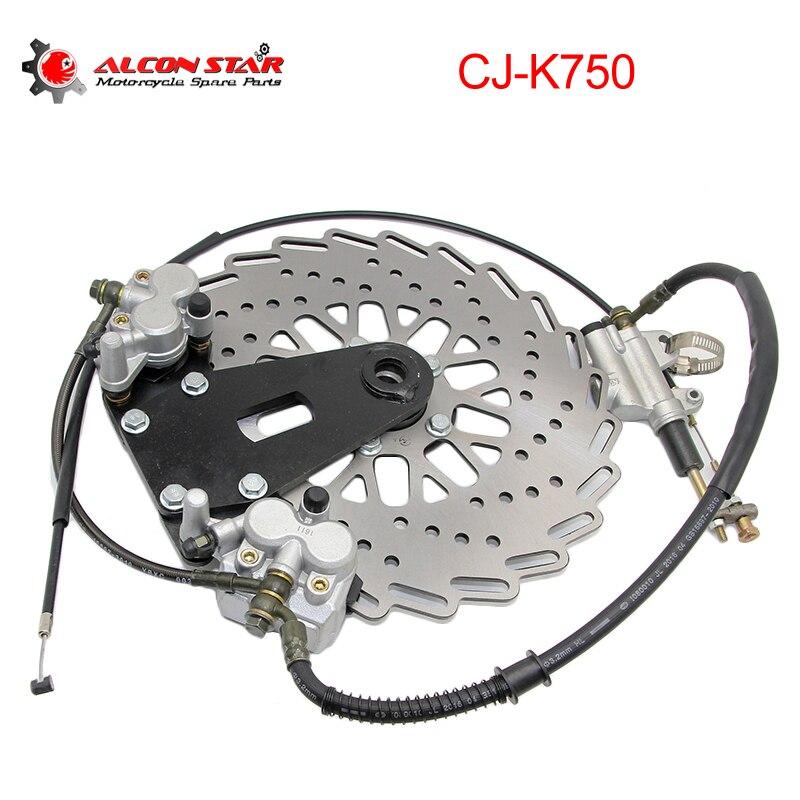 Alconstar комплект тормозных колодок для мотоцикла, передние и задние суппорты, диск для BMW R12 R50 R51 R71 Урал M1 M72 SideCar