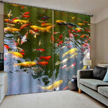custom home curtains Surface carp For living room bedroom Blackout window decoration 2020