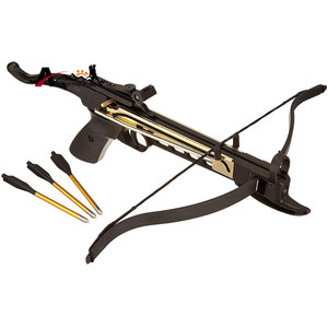 "Image 2 - 60pcs/Pack Shooting Arrows Outdoor Hunting Aluminum Bolt Arrow 6.5"" Length Arrow Archery for 50lb/80lb Crossbow Accurate Arrow"