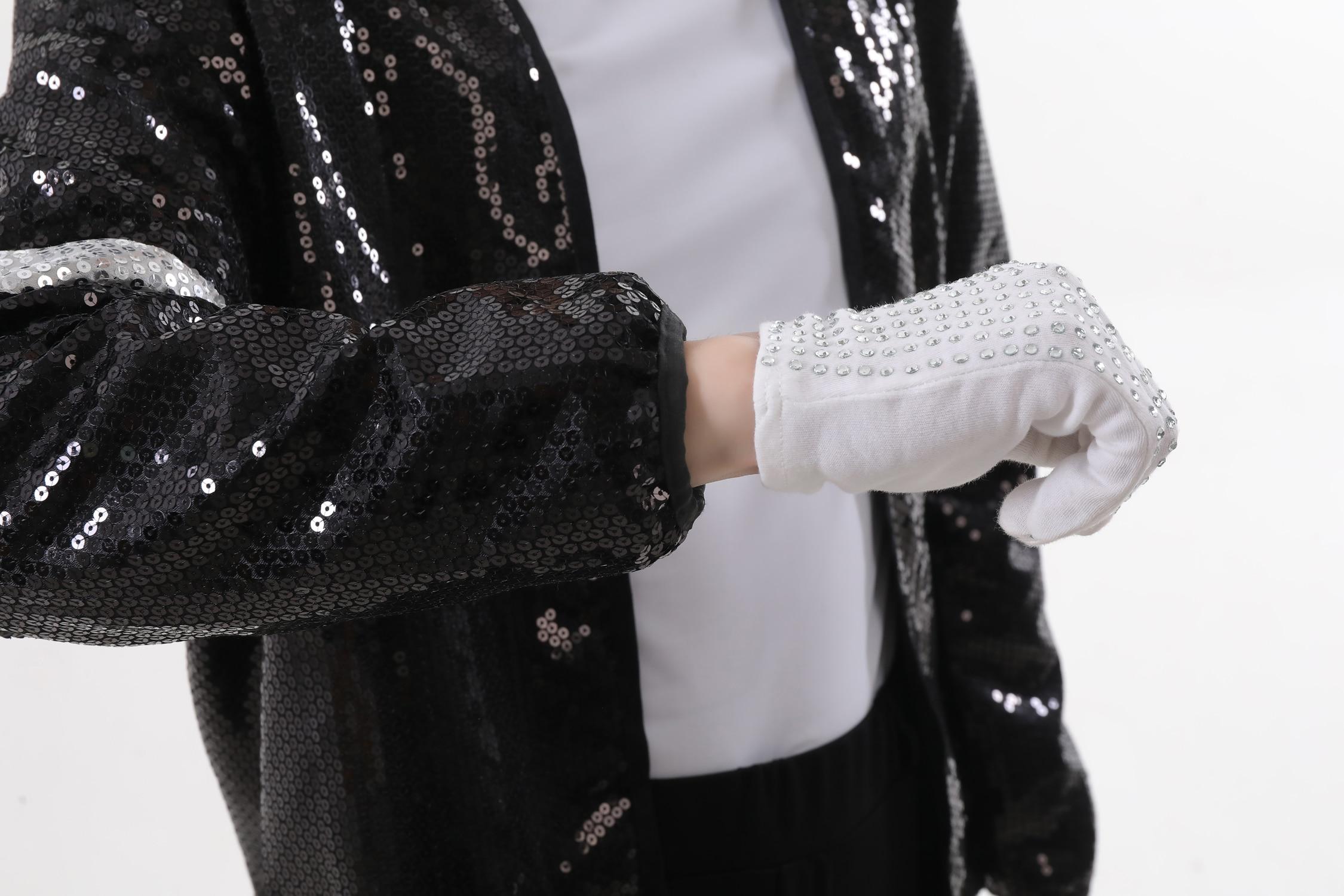 Professional 5pcs Michael Jackson Billie Jean Cospplay Men Kids
