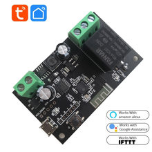 WiFi Relay Tuya Smart Switch Module 12V Smart life APP Remote Control Timer DIY Inching Self-Locking Work with Alexa Google Home
