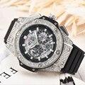 FÓSSEIS de Luxo Men Watch Moda AAA Relógio para Homens relógio de Pulso de Quartzo Relógios com Silicone relojes para hombre