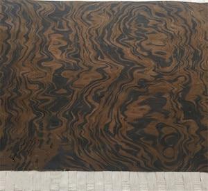 Image 3 - Technical Wood Veneer Black Walnut Burl Root Engineering Veneer E.V. 62x250cm Tissue Backing
