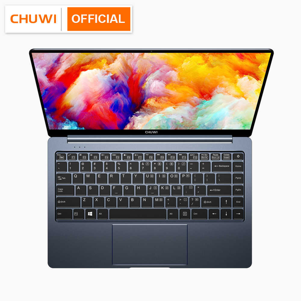 CHUWI Lapbook Pro 14.1 Inch Intel Gemini-Lake N4100 Quad Core 8GB RAM 256GB SSD Windows 10 LAPTOP dengan Backlit Keyboard