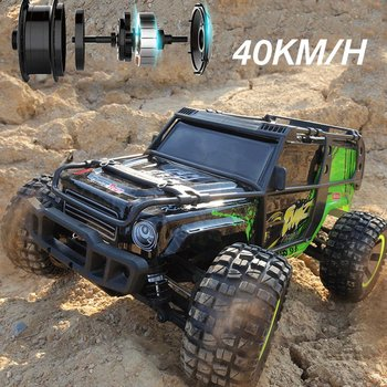 1:10 Full-scale Four-wheel Drive Remote High-speed Off-road Vehicle 2.4G Rock Crawlers RC Climbing Desert Car RC Car 2