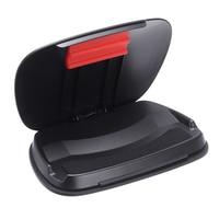 최신 자동차 센터 콘솔 전화 마운트 범용 대시 보드 휴대 전화 홀더 스탠드 Amartphone 미끄럼 방지 마운트