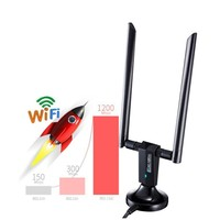 2.4/5GHz 1200Mbps Wireless USB Network Card USB3.0 Wifi Receiver Adapter With Antenna For PC Laptop Accessories