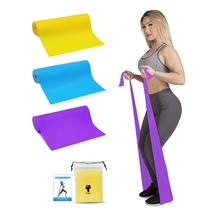 New Yoga Resistance Band Pilates Rope Sports Home Fitness Stretching Band