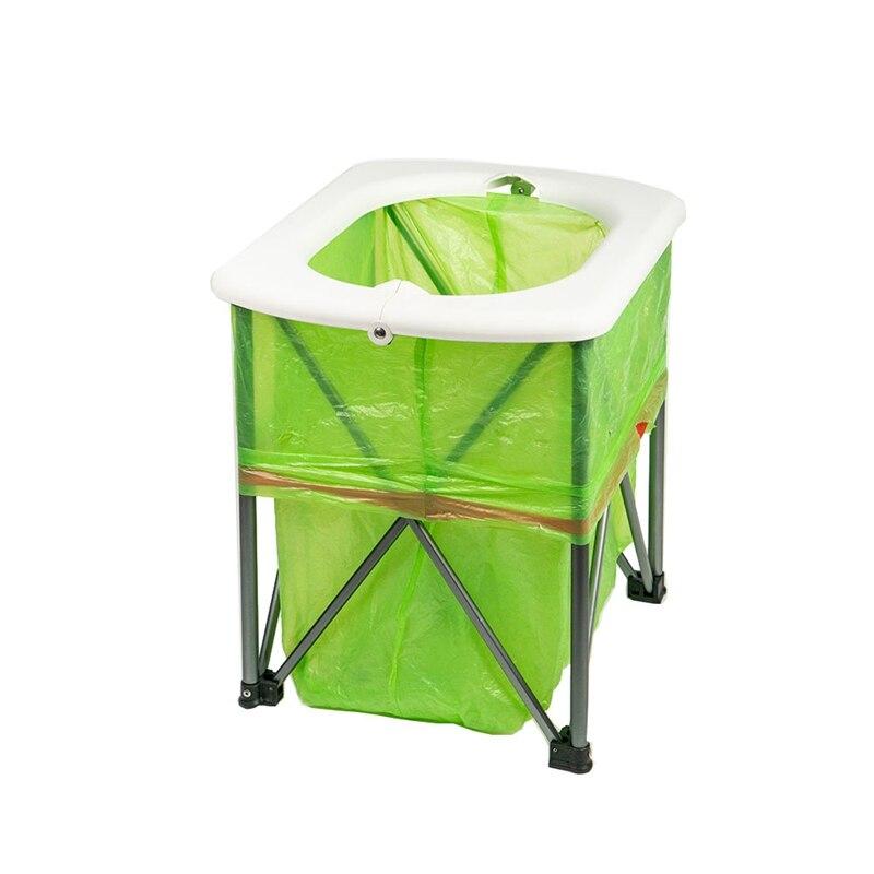 Dobrável multifuncional Higiênico Acampamento Ao Ar Livre Cadeira Do Lazer Portátil Ultraleve Wc Wc
