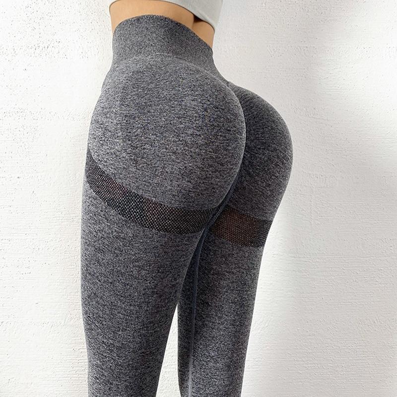 Seamless Leggings Push Up Bubble Butt Sport Women Fitness Gym High Waist Leggings Workout Anti Cellulite Compression Legging 2
