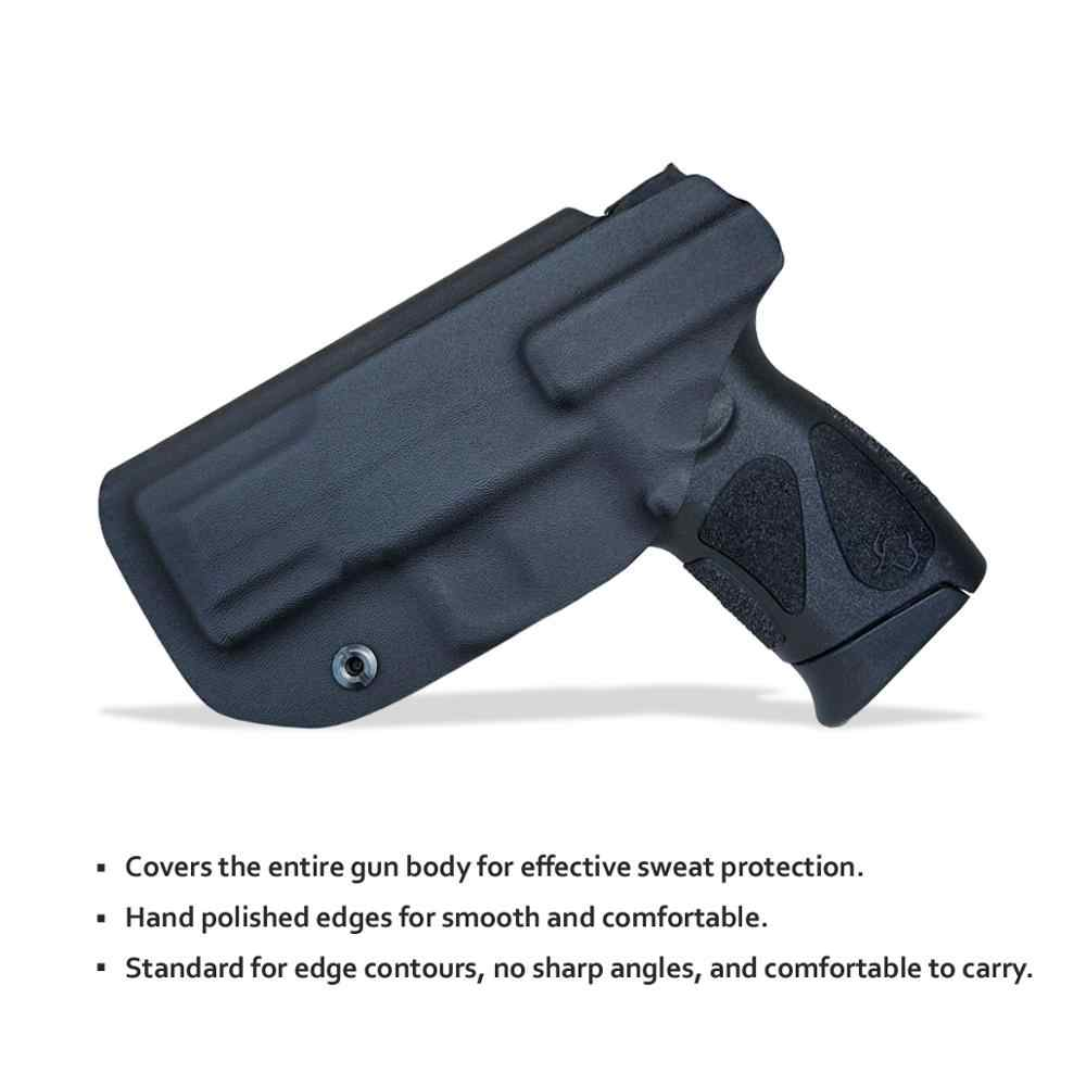 Kydex IWB الحافظة الثور G2C و الألفية PT111 G2/PT140 9 مللي متر مسدس حافظة داخل حزام تحمل مخفي الحافظة بندقية الحقيبة