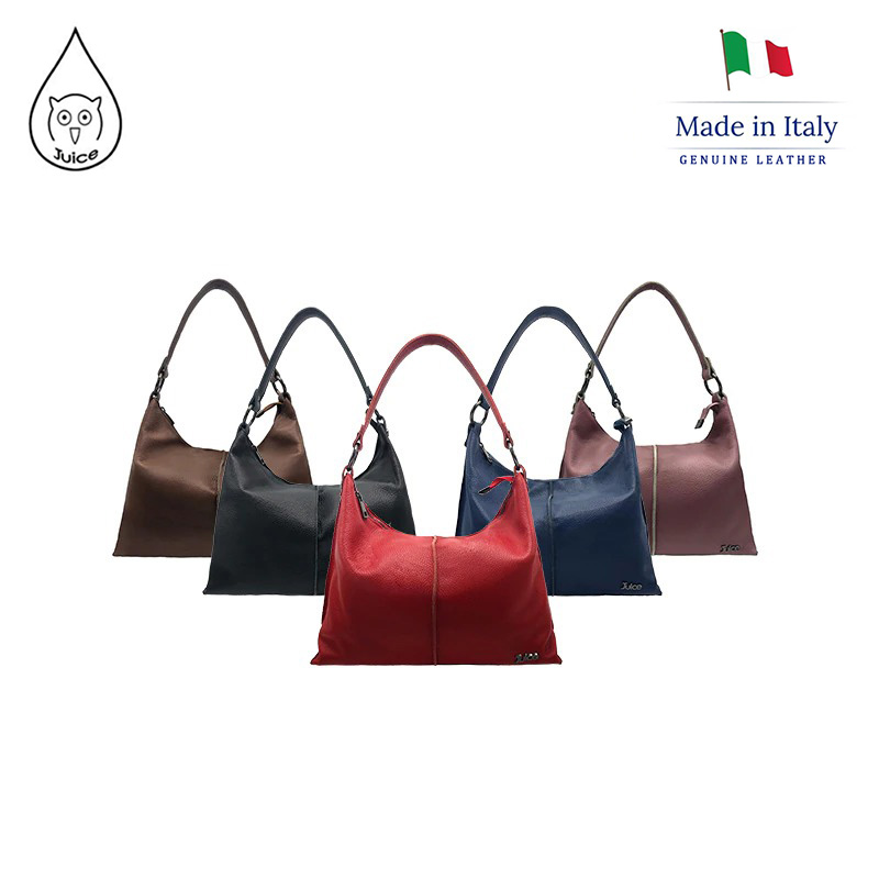 JUICE ,made In Italy, Genuine Leather, Women Bag,Women Medium Handbag 112123