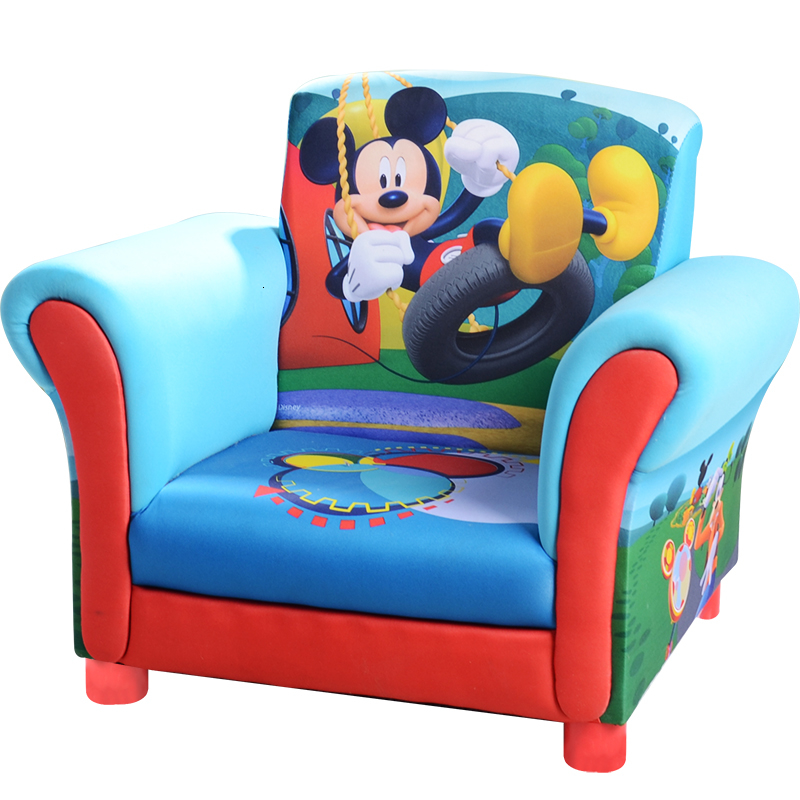Rice Odd Disney Children Sofa Cartoon Baby Baby Small Sofa Fabric Group Close Sofa Chair