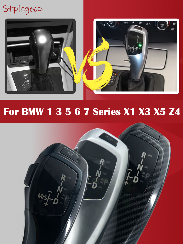 6 Speed Car Gear Shift Shifter Knob For BMW 1 3 Series E82 E87 E88 E90 E91