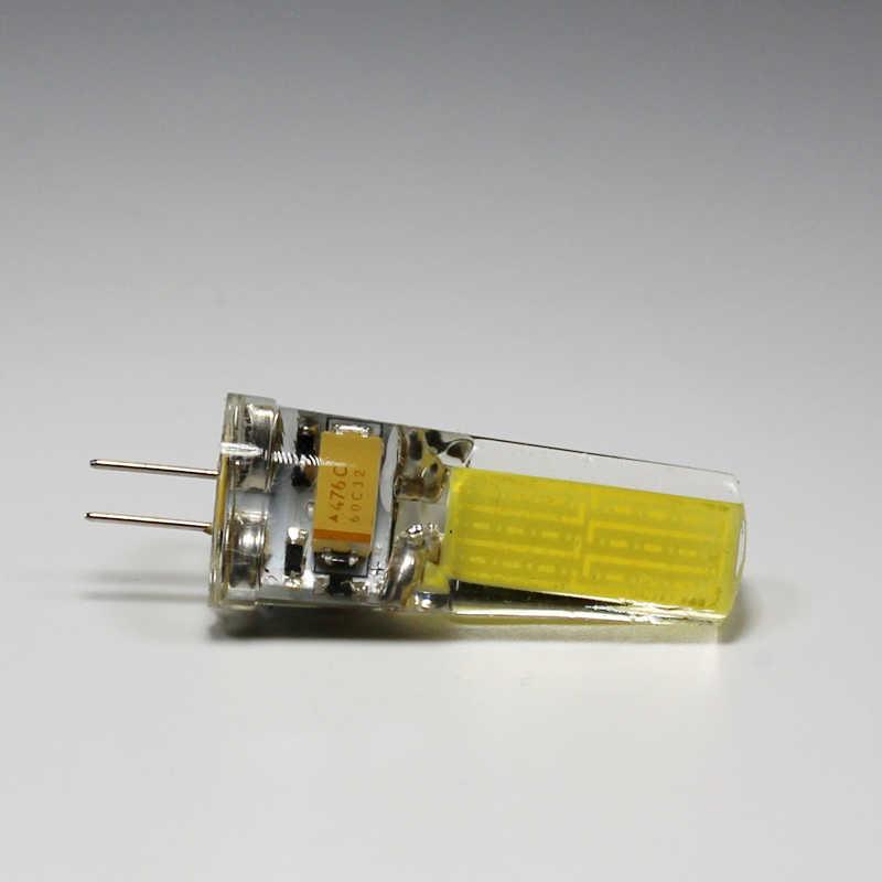 G4/G9/E14 LED الذرة ضوء لمبة 3 واط 5 واط 6 واط 7 واط 9 واط COB مصباح تيار مستمر/acخزف 220 فولت SMD2835 الدافئة الأبيض الثريات البلورية/ النجف الكريستالي لمبة